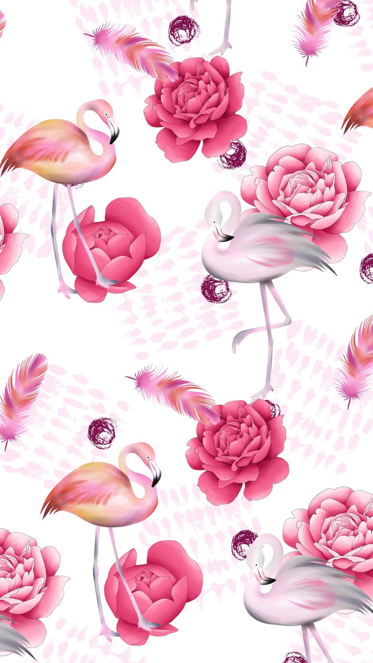 Wallpaper By Artist Unknown Fun Summertime Wall Paper Papeis De Parede Rosa Papel De Parede Flamingo Papel De Parede Do Iphone