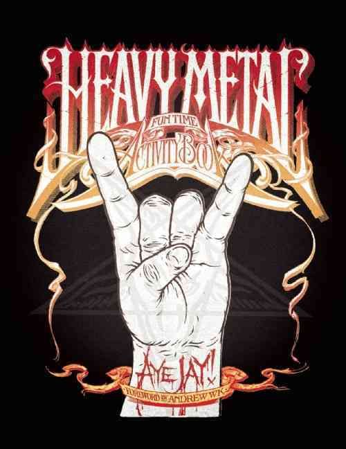 Heavy Metal Fun Time Activity Book (Paperback) | Stuff to Buy ...
