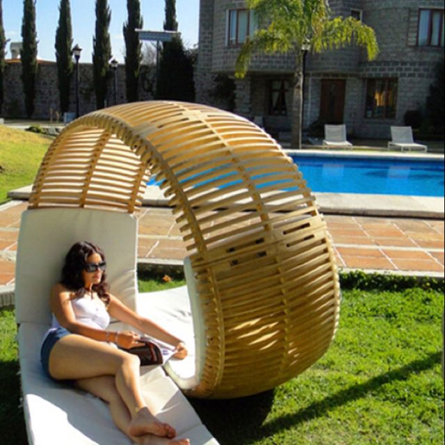 Double lounge chair. Love it!