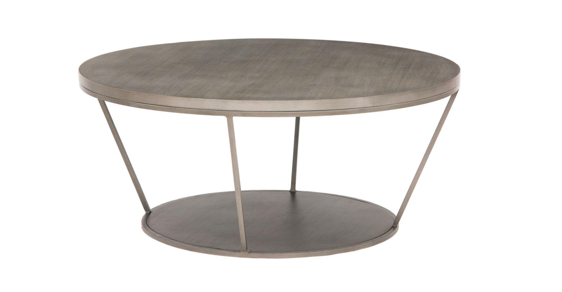 Blair Round Coffee Table | Kramer | Pinterest | Oro y Mesas