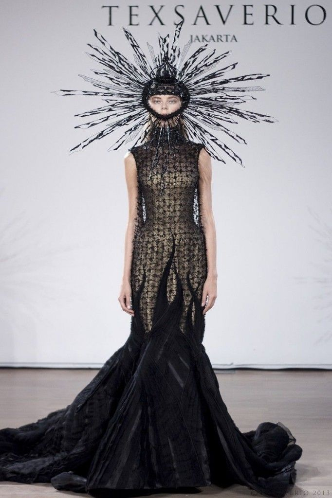 "Tex Saverio ""Fantasy Made Reality"" Spring/Summer 2014 Ready to Wear Jeu de Paume, Paris Fashion Week. Photo courtesy of Tex Saverio."