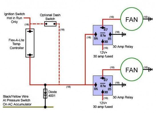 Cooling Fan Circuit 4  Customcars  Custom  Cars  Mods