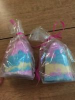 Two Twisted Tornado Fizzy Bath Bombs Lush Fruiti Scents Fizzy