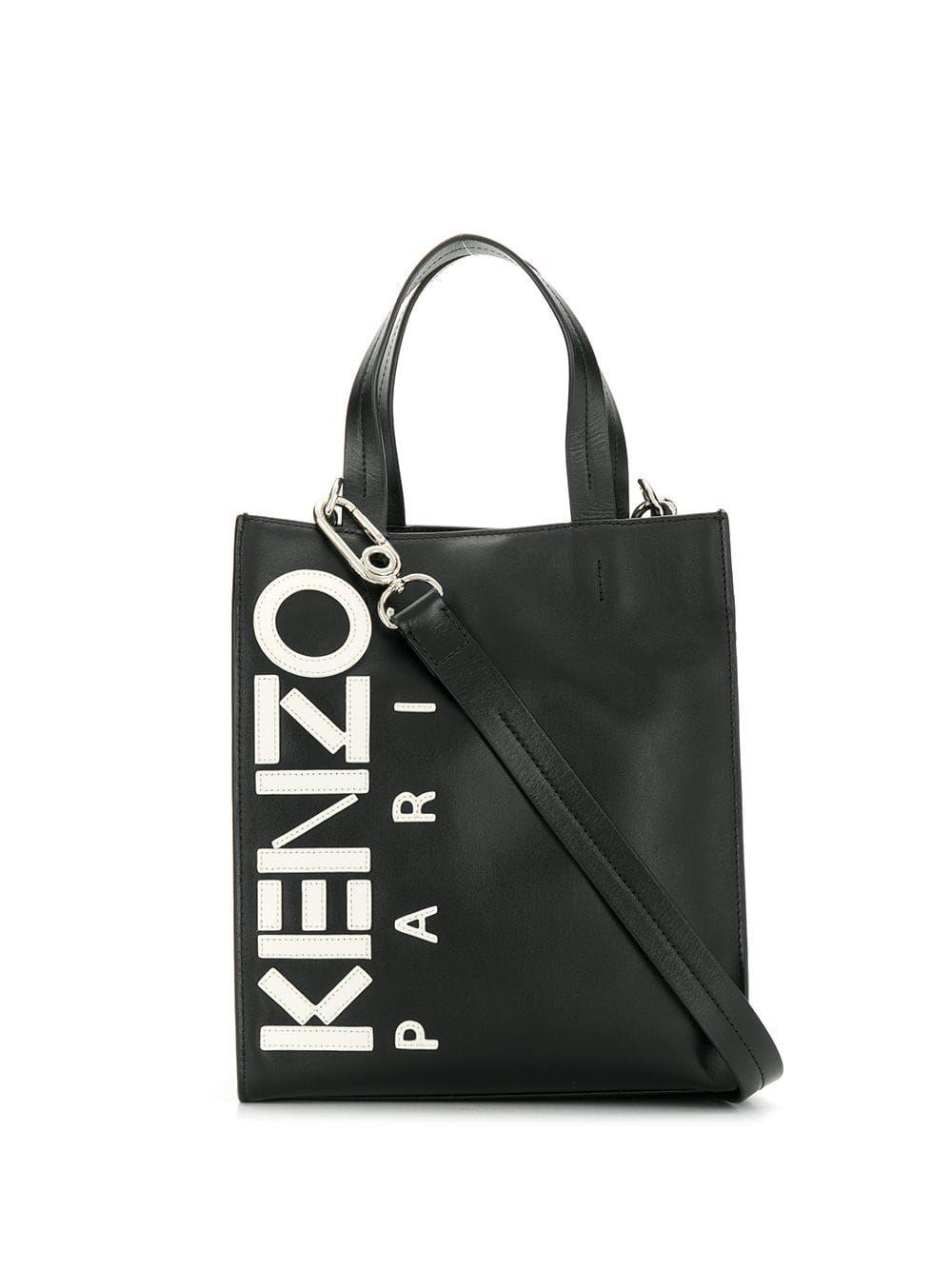 ac73137e Kenzo Kontrast tote bag - Black in 2019   Products   Bags, Kenzo ...