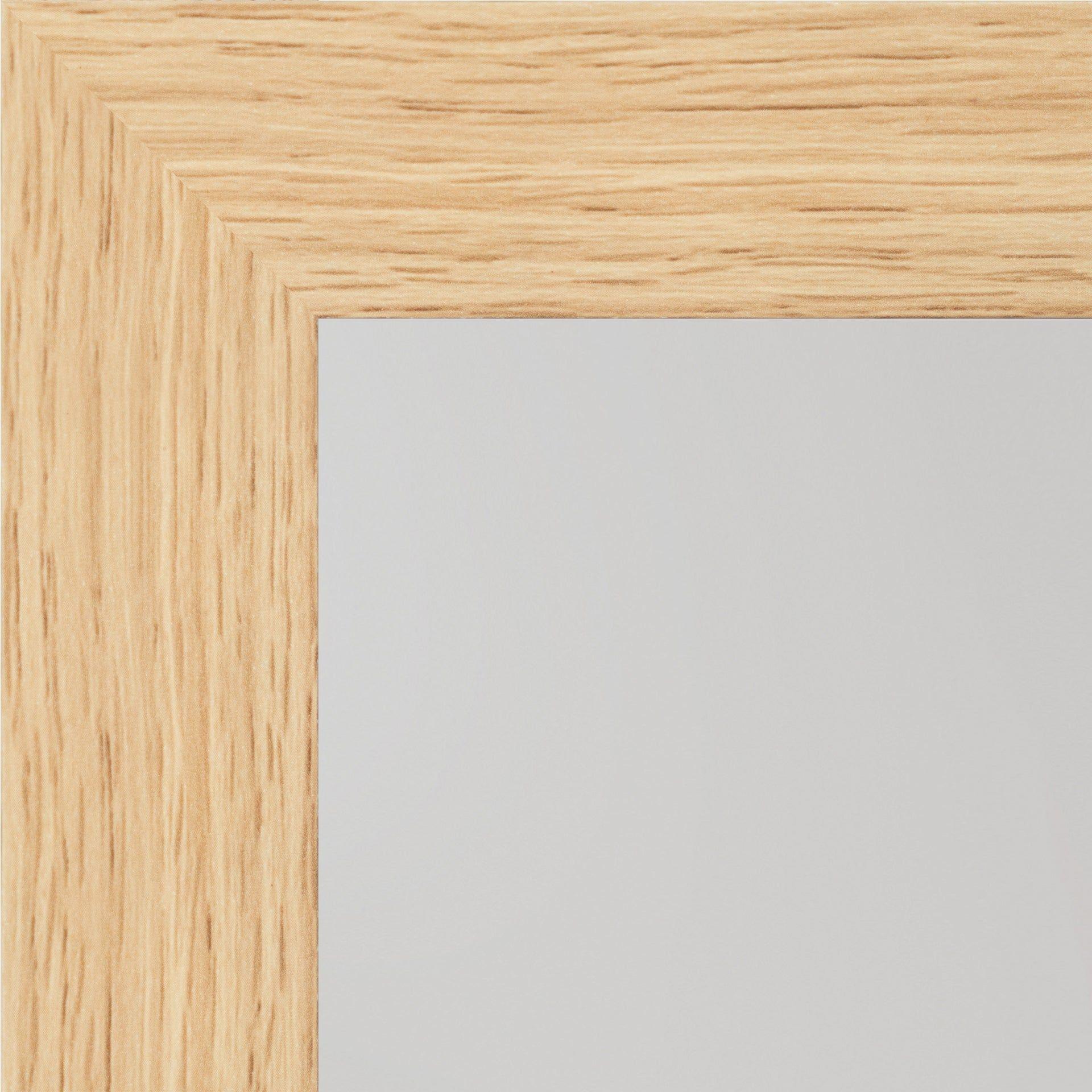 miroir rectangulaire basic chene clair