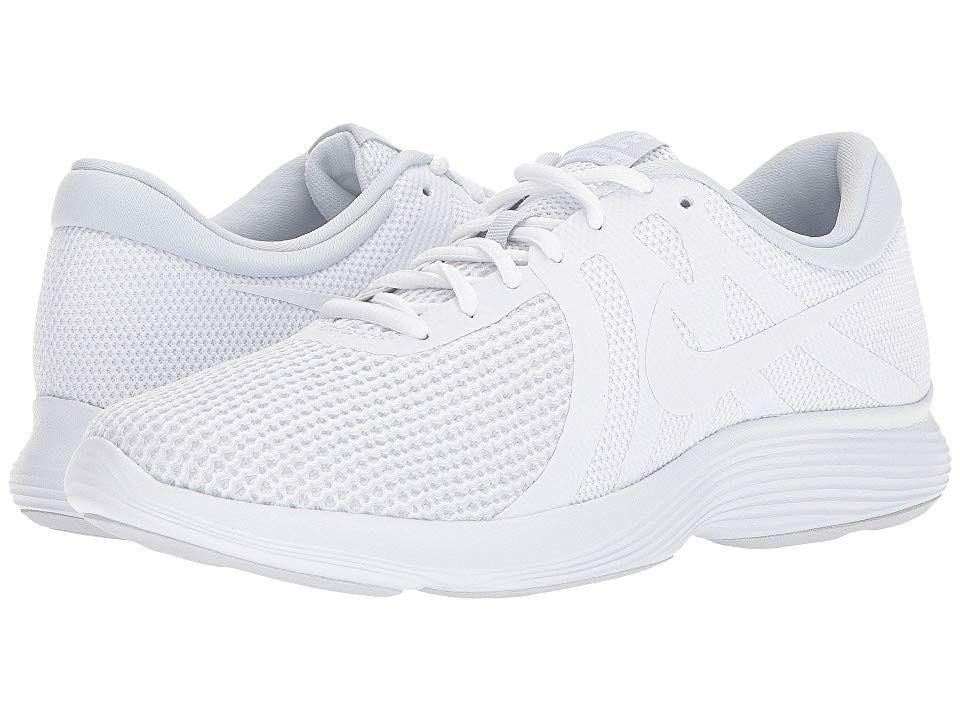 Nike Revolution 4 Men's Running Shoes WhiteWhitePure