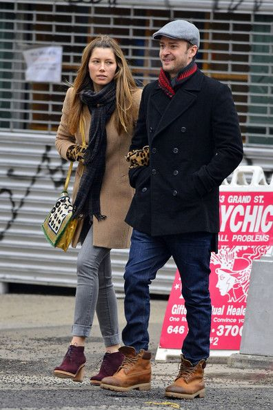 Justin Timberlake and Jessica Biel in NYC