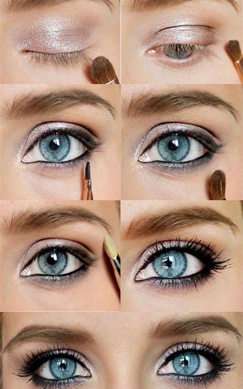 creme ögonskugga test