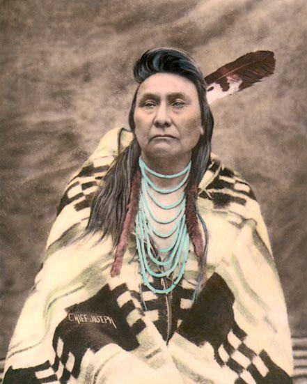 Native American Indian CHIEF JOSEPH 8x10 Photo Nez Perce Tribe Print Poster