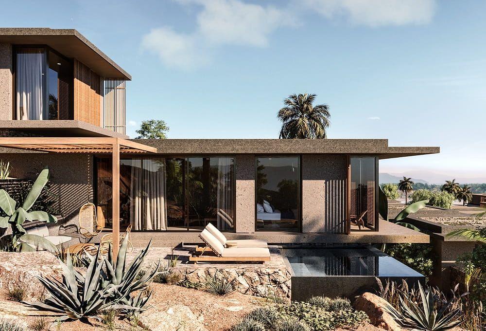 Minimalist Mid Century Modernism Casa Cook Chania Crete