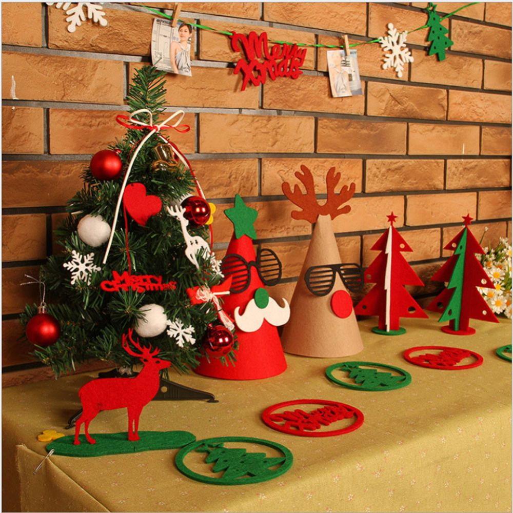 free shipping buy best merry christmas decorations suits banner flag xmas
