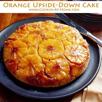 Orange Upside-Down Cake | Cooking at Home