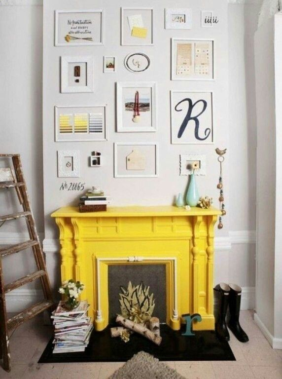Beautiful Fake Fireplace Decoration Ideas Part - 8: Let The Spring Decorating Begin With These 52 Mantel Decorating Ideas For  Spring. Spruce Up Your Fireplace Or Mantel By Adding Touches Of Spring.