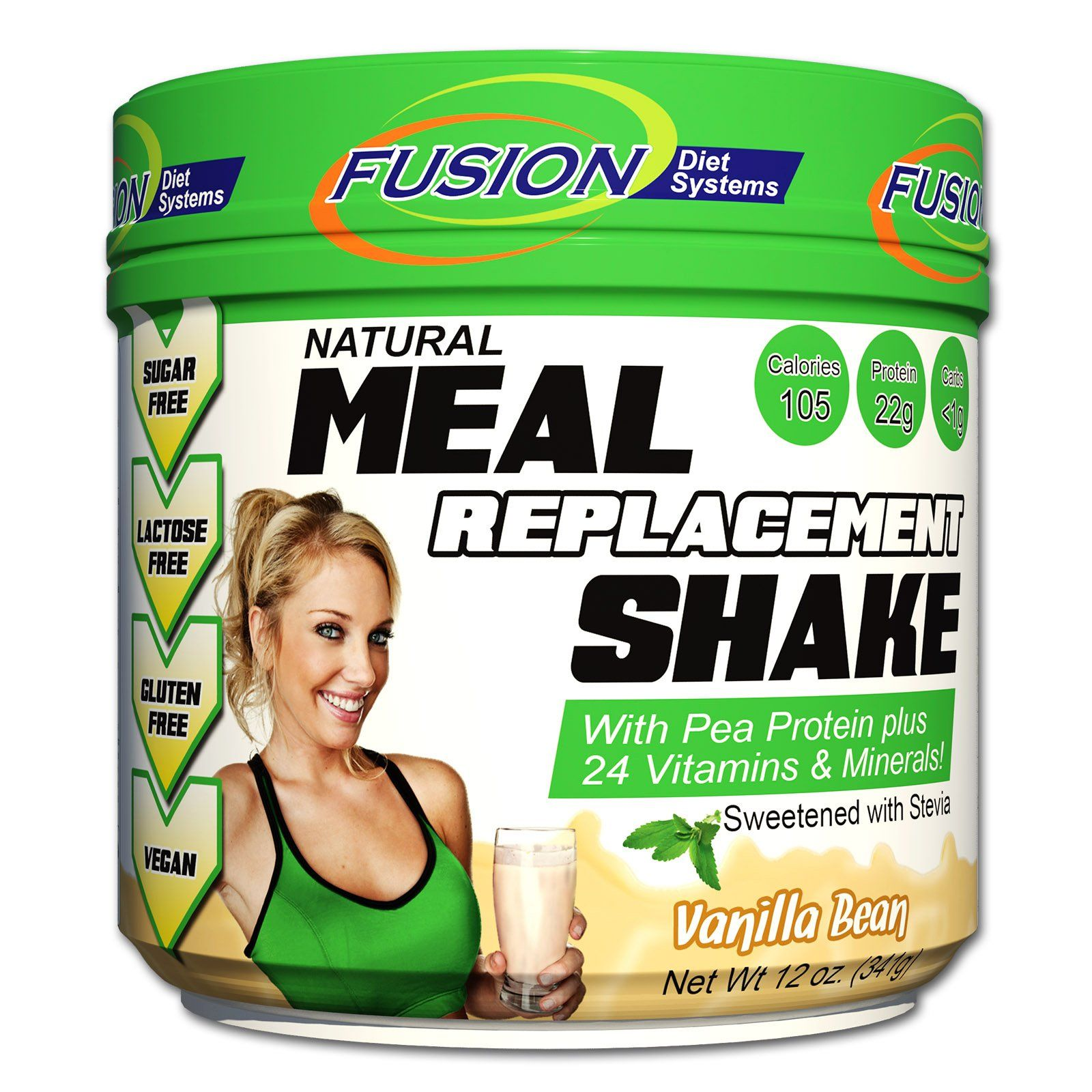 Fusion Plant Based Vegan Meal Replacement Protein Powder â