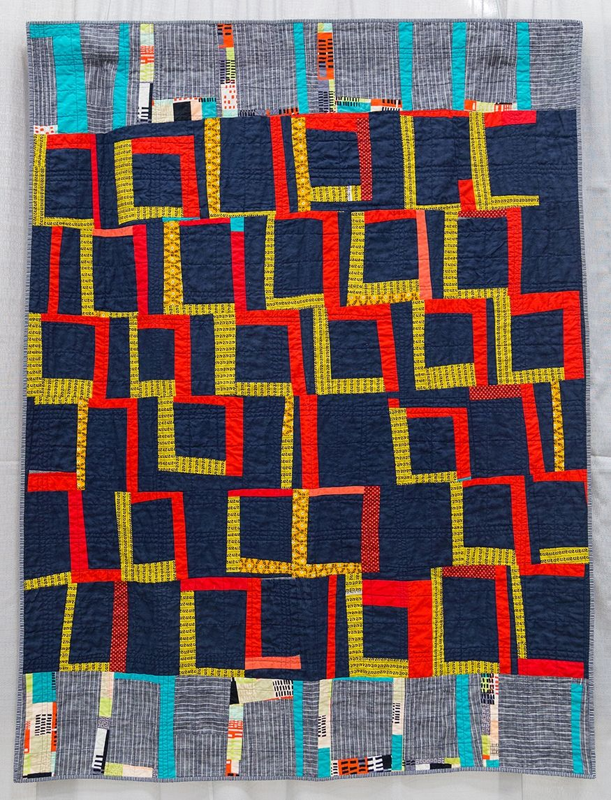 Improvisation | The Modern Quilt Guild - Elisa Albury | quilt ... : the modern quilt guild - Adamdwight.com