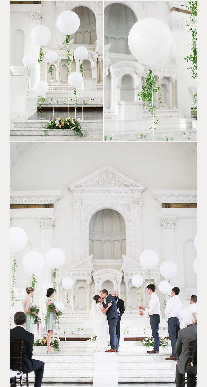 50 Awesome Balloon Wedding Ideas | Pinterest | Decoration, Weddings ...