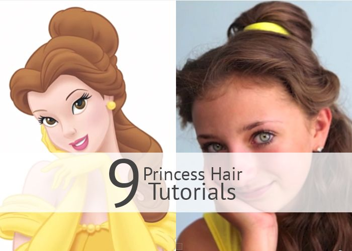 9 Disney Princess Hair Tutorials