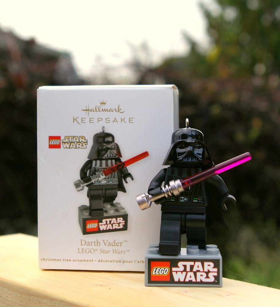 star wars lego darth vader hallmark keepsake handcrafted