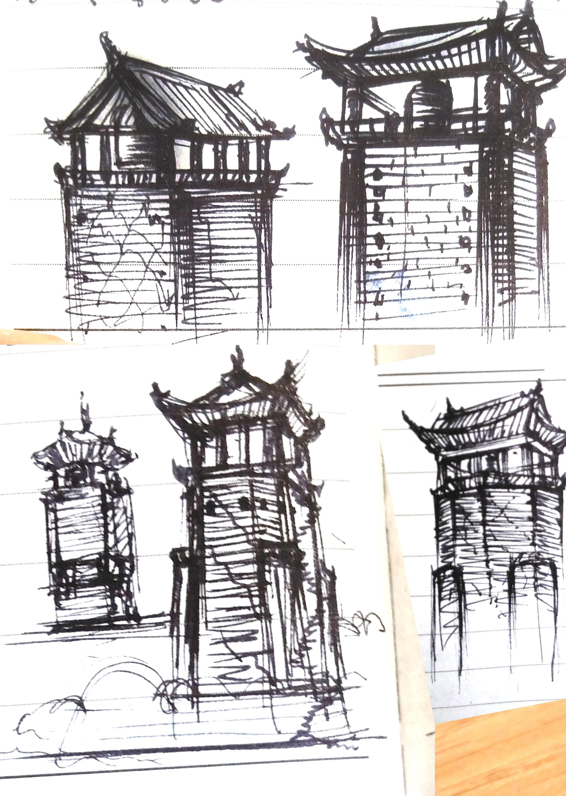 "Oriental Structure (inspire Of "" Dream """