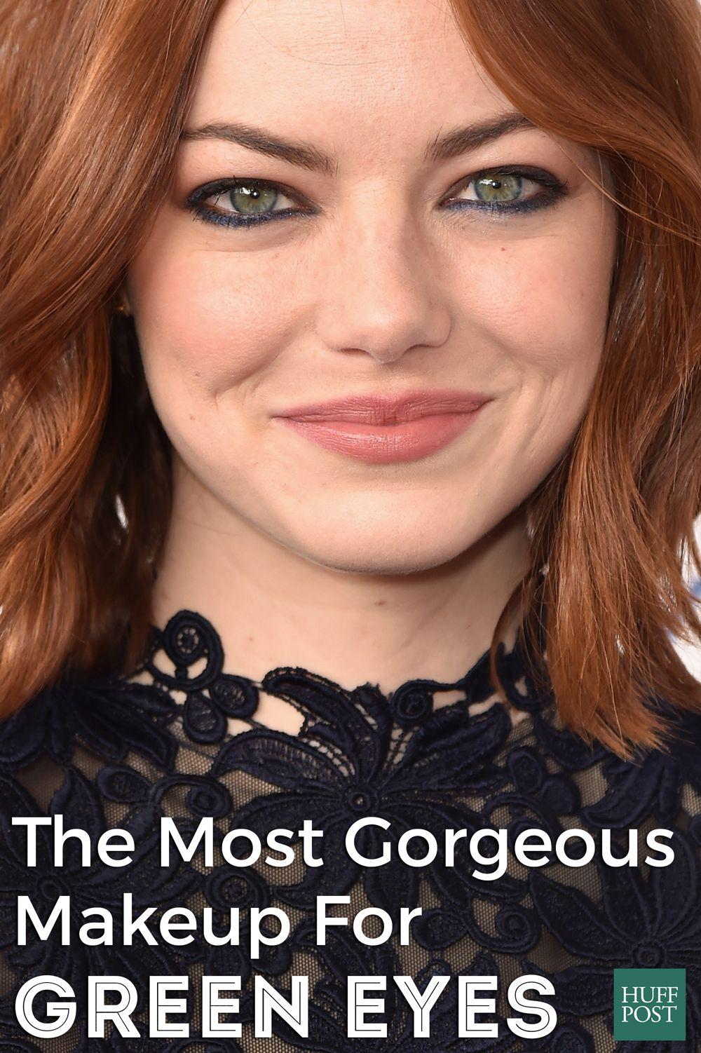 the most gorgeous makeup for green eyes | makeup | makeup