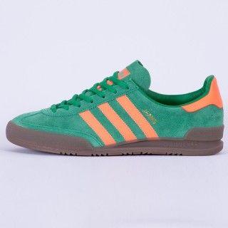 adidas Originals Jeans GreenSolar OrangeGum S79996