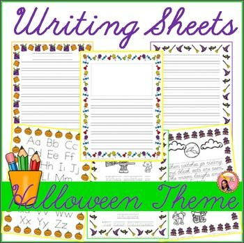 Halloween Creative Writing   Learning Stations