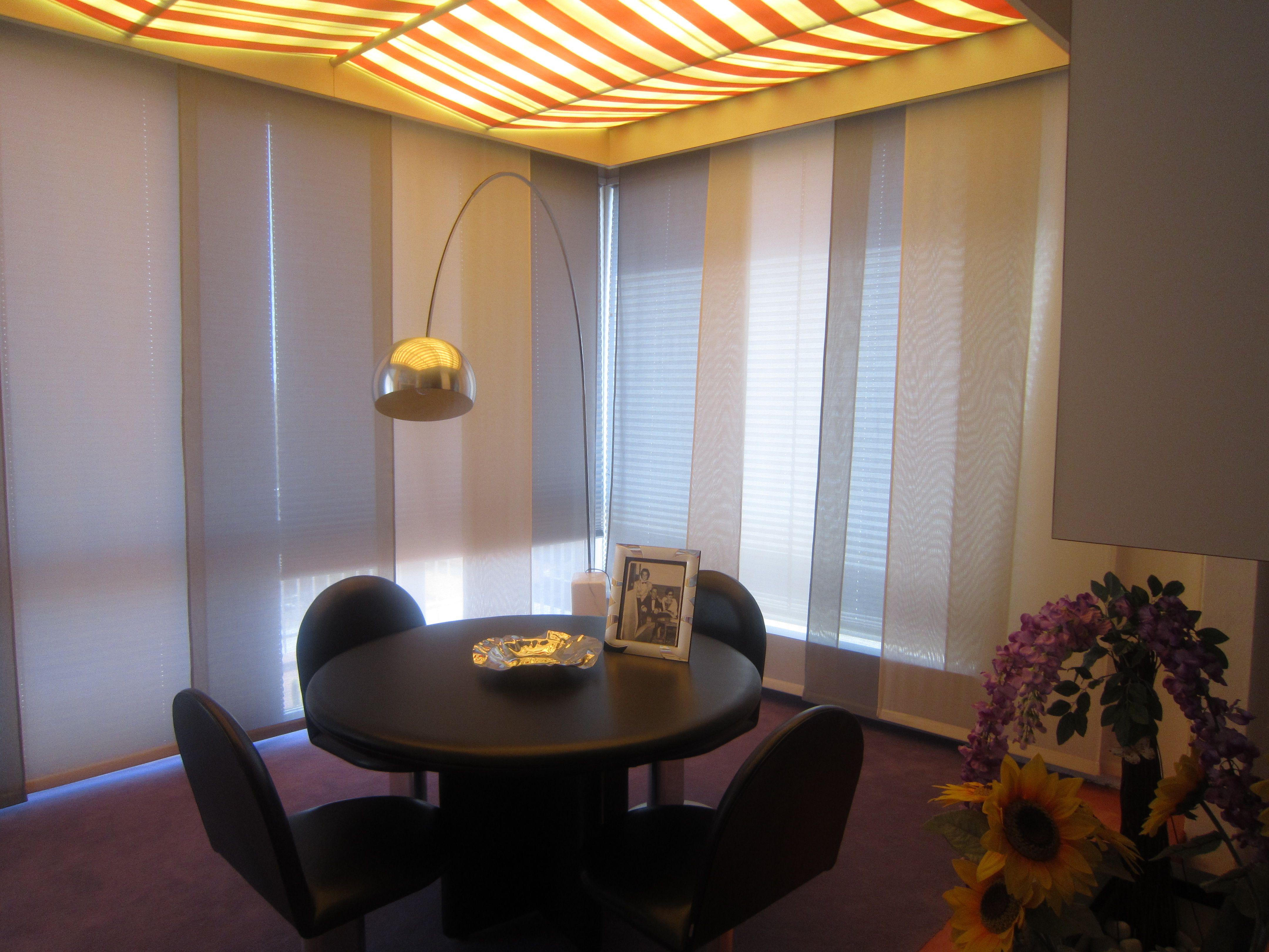Tende Per Ufficio A Pannelli : Tende a pannelli e tende per lucernari per arredamento ufficio
