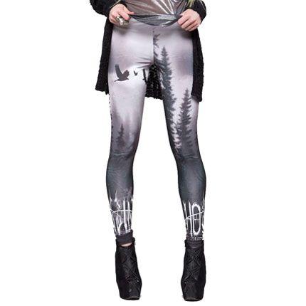 LIP SERVICE Forest print leggings <3 $49