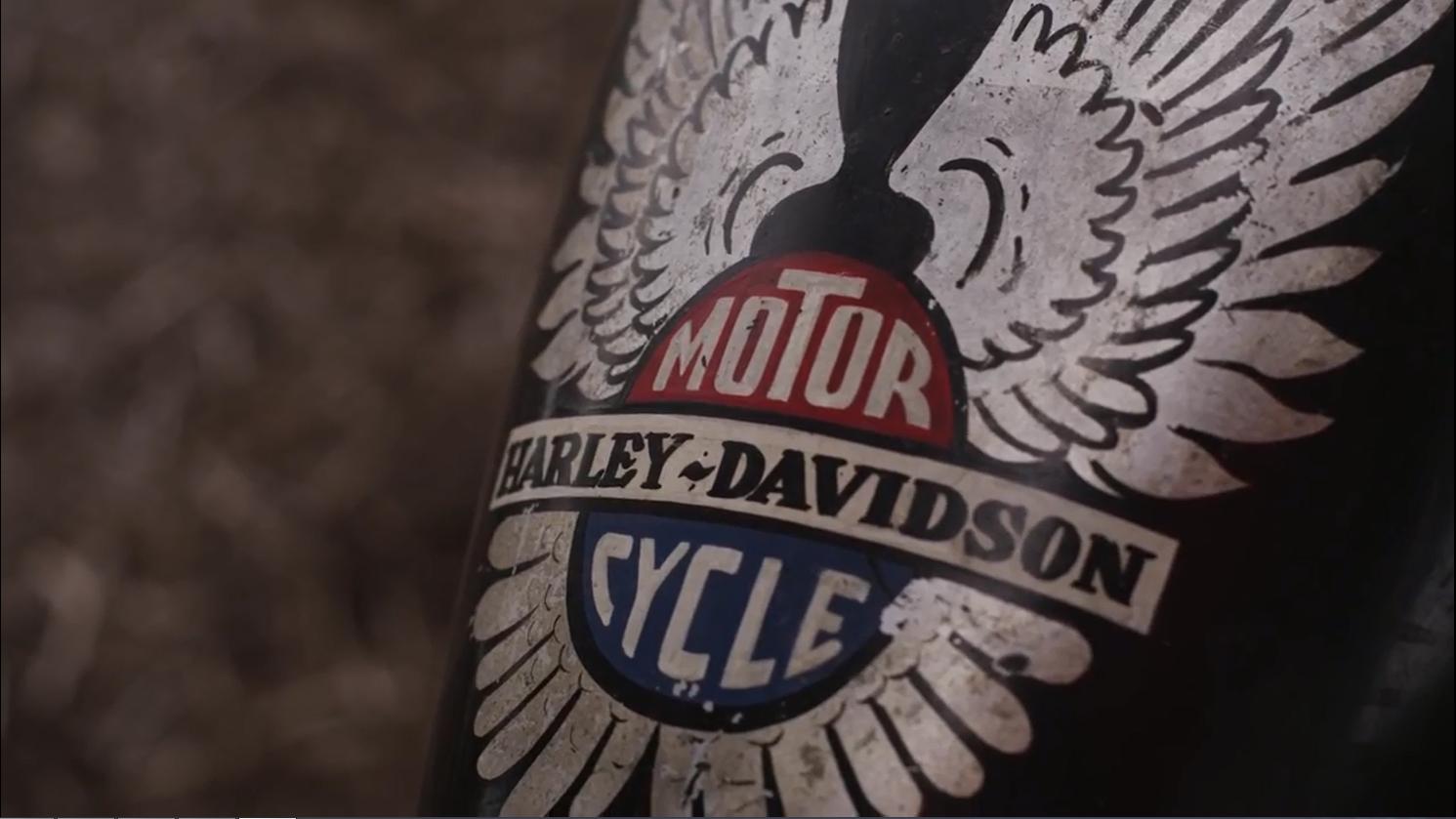 Harley Davidson motor cycle