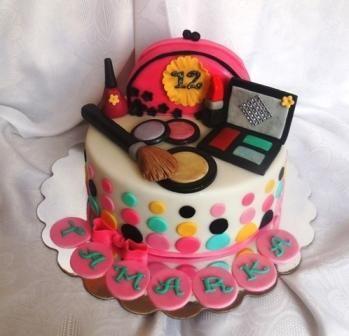 Výsledok vyhľadávania obrázkov pre dopyt narodeninové torty pre dievčatá s malovatkami