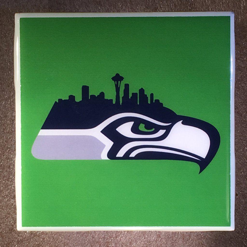 Seattle seahawks coaster nfl ceramic tile football kinder seattle seahawks coaster nfl ceramic tile football dailygadgetfo Gallery