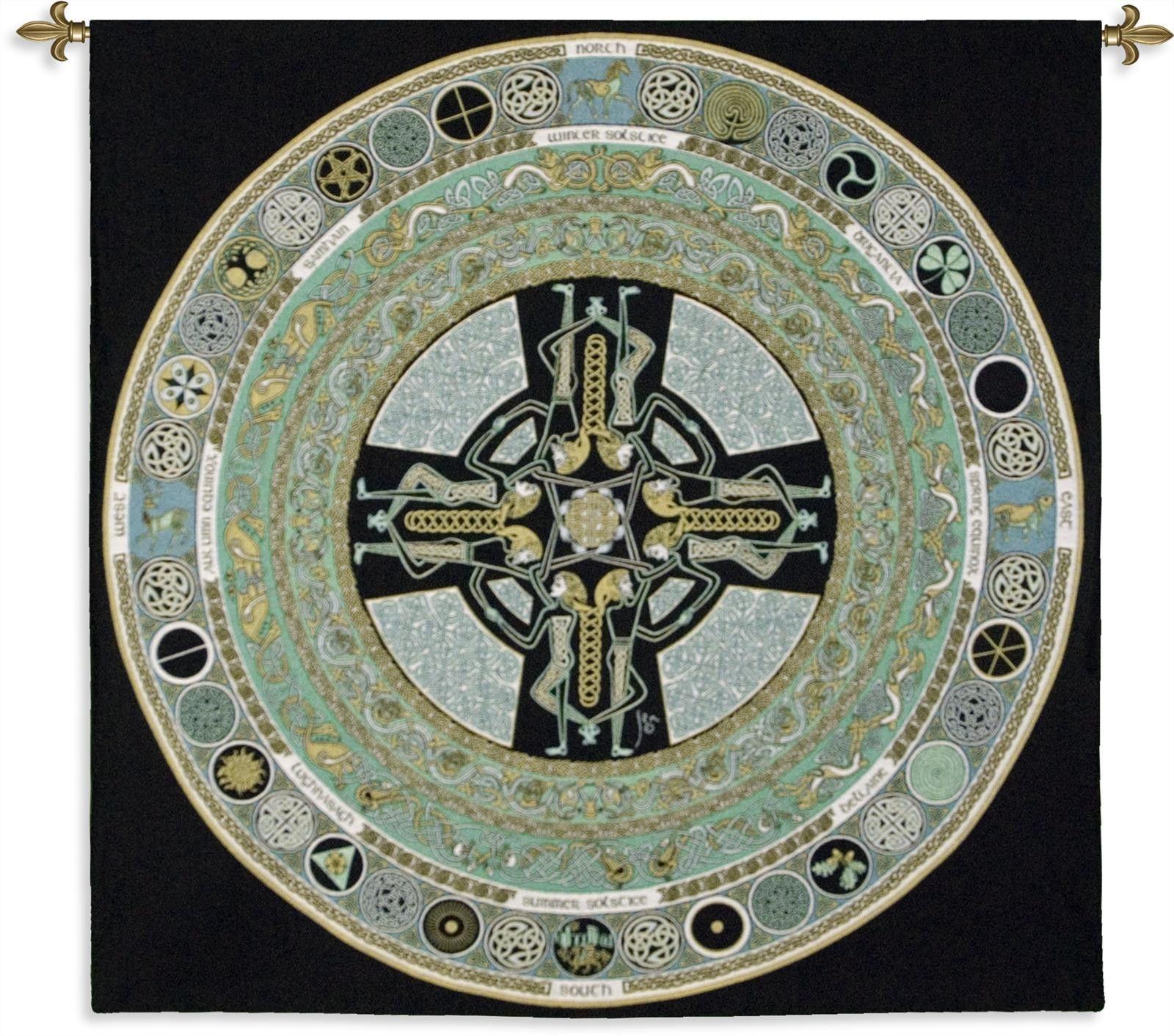 Celtic mandala wall tapestry celtic mandala wall tapestries and