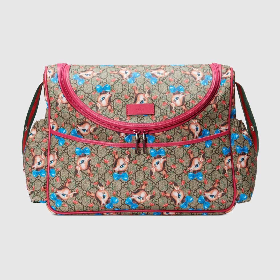 72c05b2a27bcbb Shop the GG fawns diaper bag by Gucci. null | Reagan | Diaper Bag ...