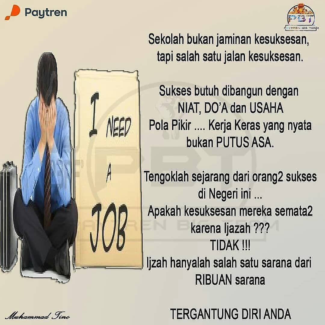 Reposted from yusril_pendaftaran_paytren Reposted from