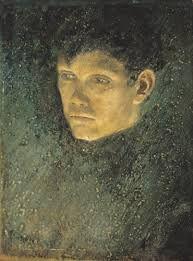Mednyánszky László - Portrait of a Bum (Csavargófej)