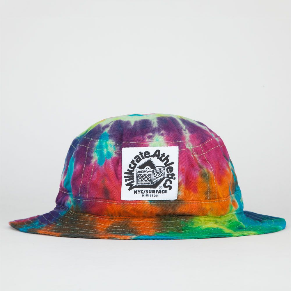 8de1099630cdfb MILKCRATE ATHLETICS Tie Dye Mens Bucket Hat 227444150 | Bucket Hats ...