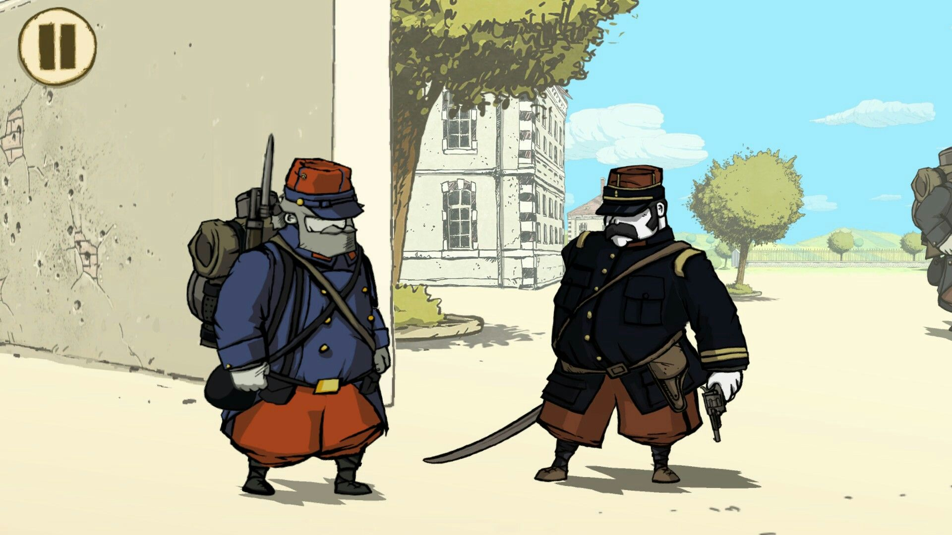 Valiant Hearths the great war - training