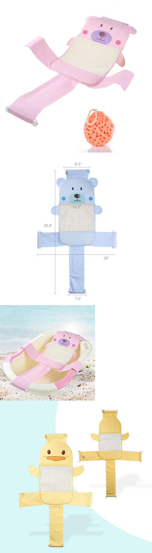Maticr Baby Bathtub Seat Support Mesh Sling, Non-Slip Bath Tub ...