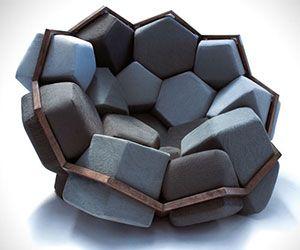 Quartz Armchair Fauteuil Design Chaise Design Mobilier De Salon