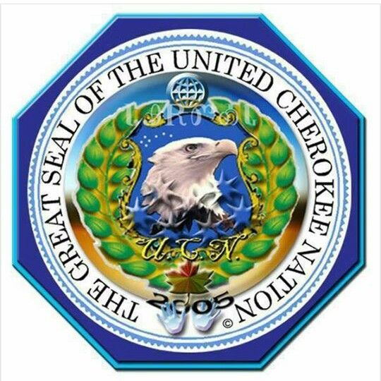 The Great Seal of the United Cherokee Nation
