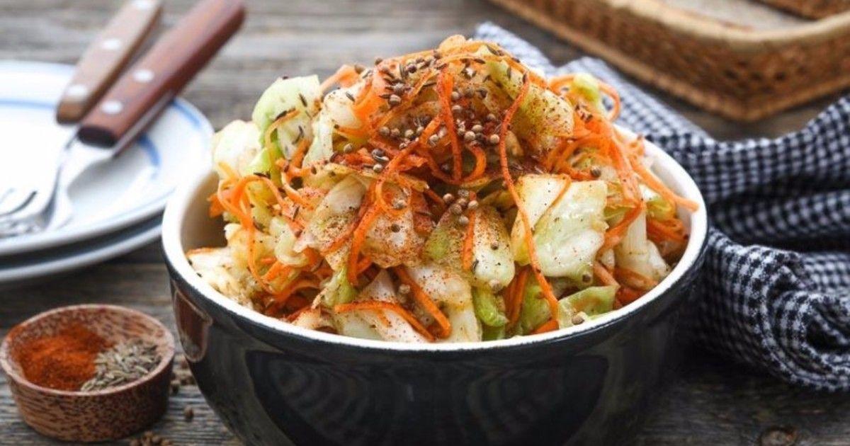 Маринованная капуста по-корейски рецепт с фото | Рецепт ...