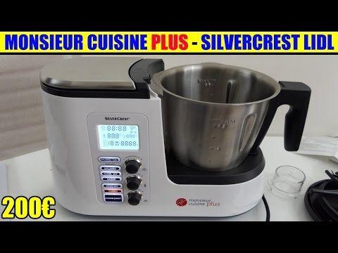 Monsieur Cuisine Plus Lidl Silvercrest Présentation Test Avis Notice