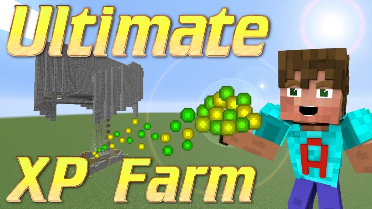 Minecraft XP Farm  How to make an XP Farm  Minecraft Mob Grinder