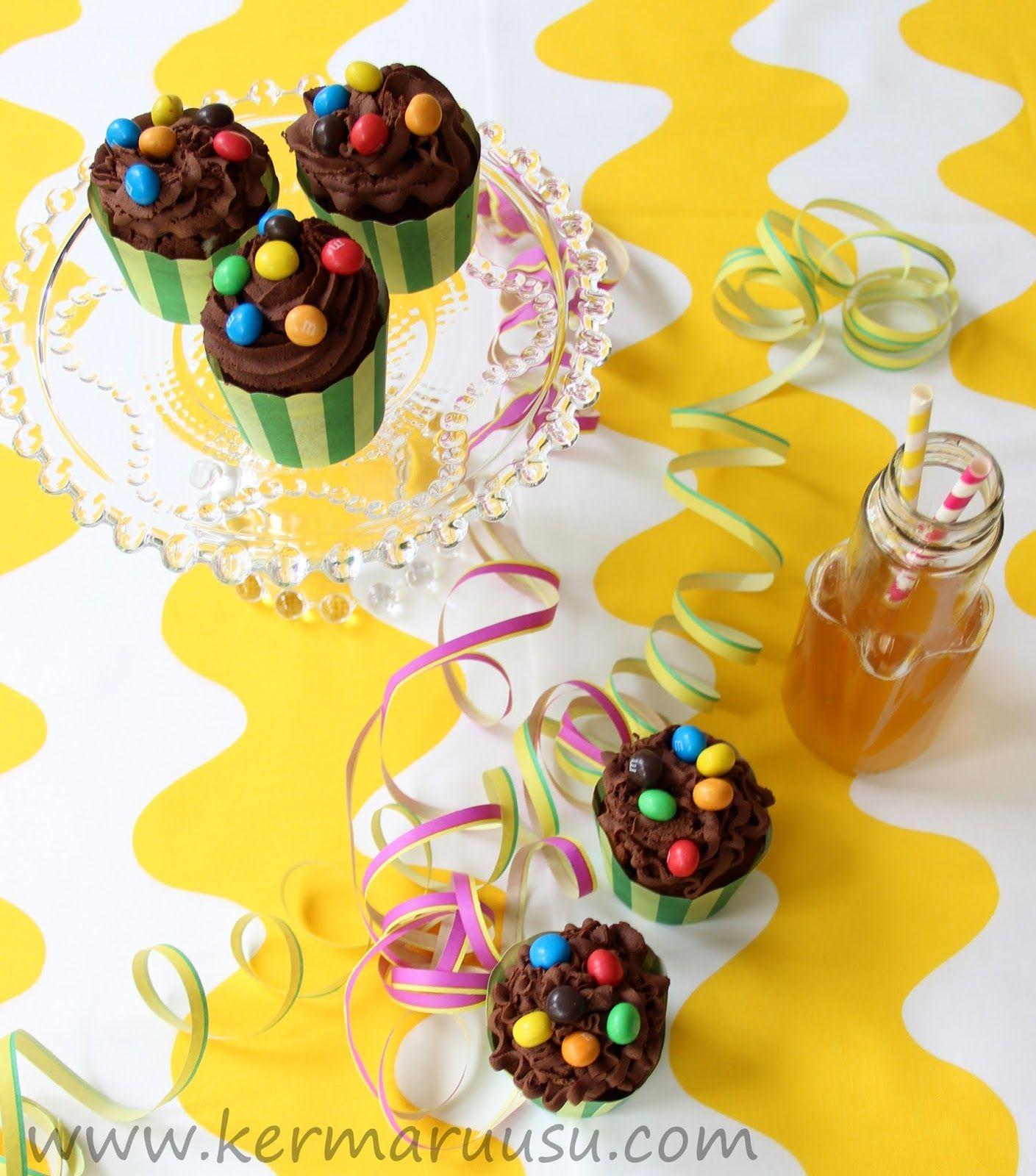 Kermaruusu: Suklaa-sitruunamuffinssit