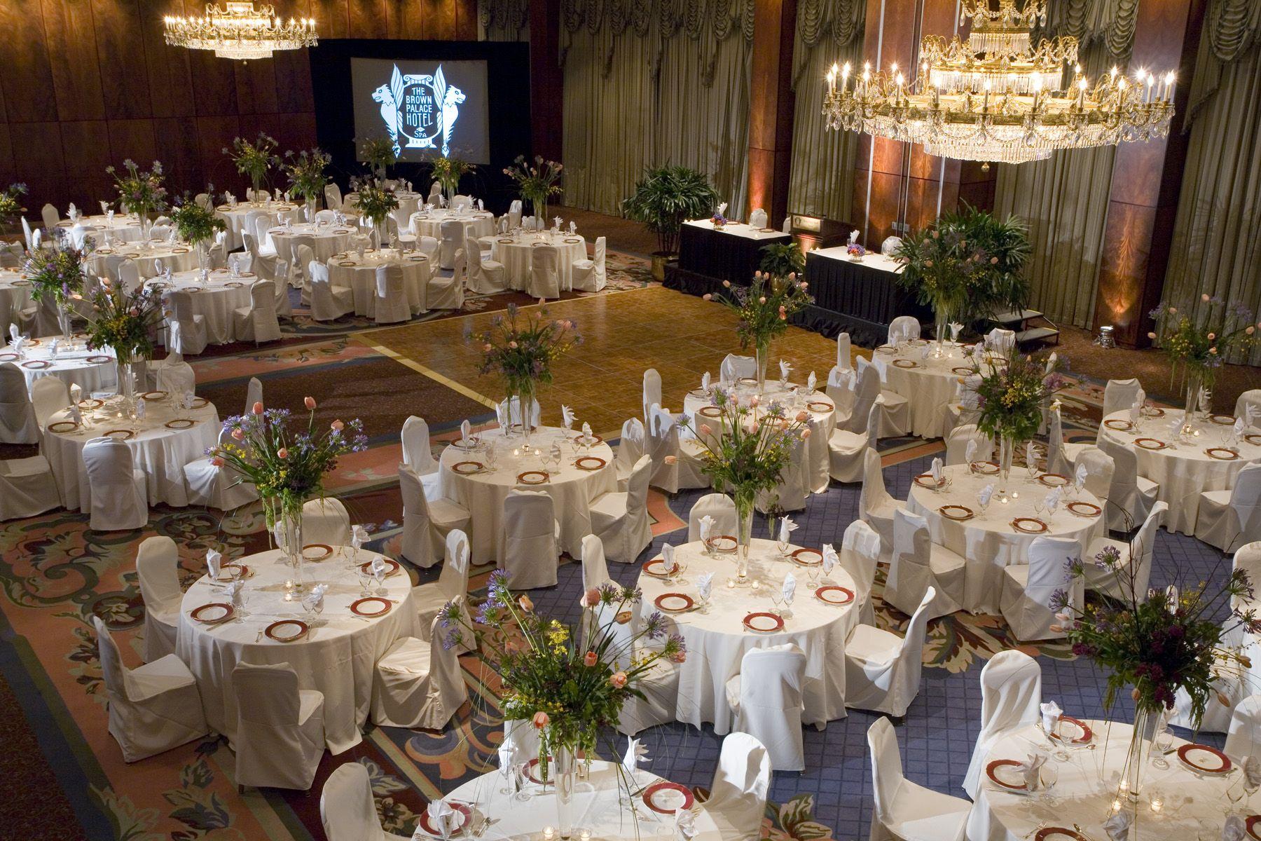 Beautiful Ballroom At The Brown Palace In Denver Colorado
