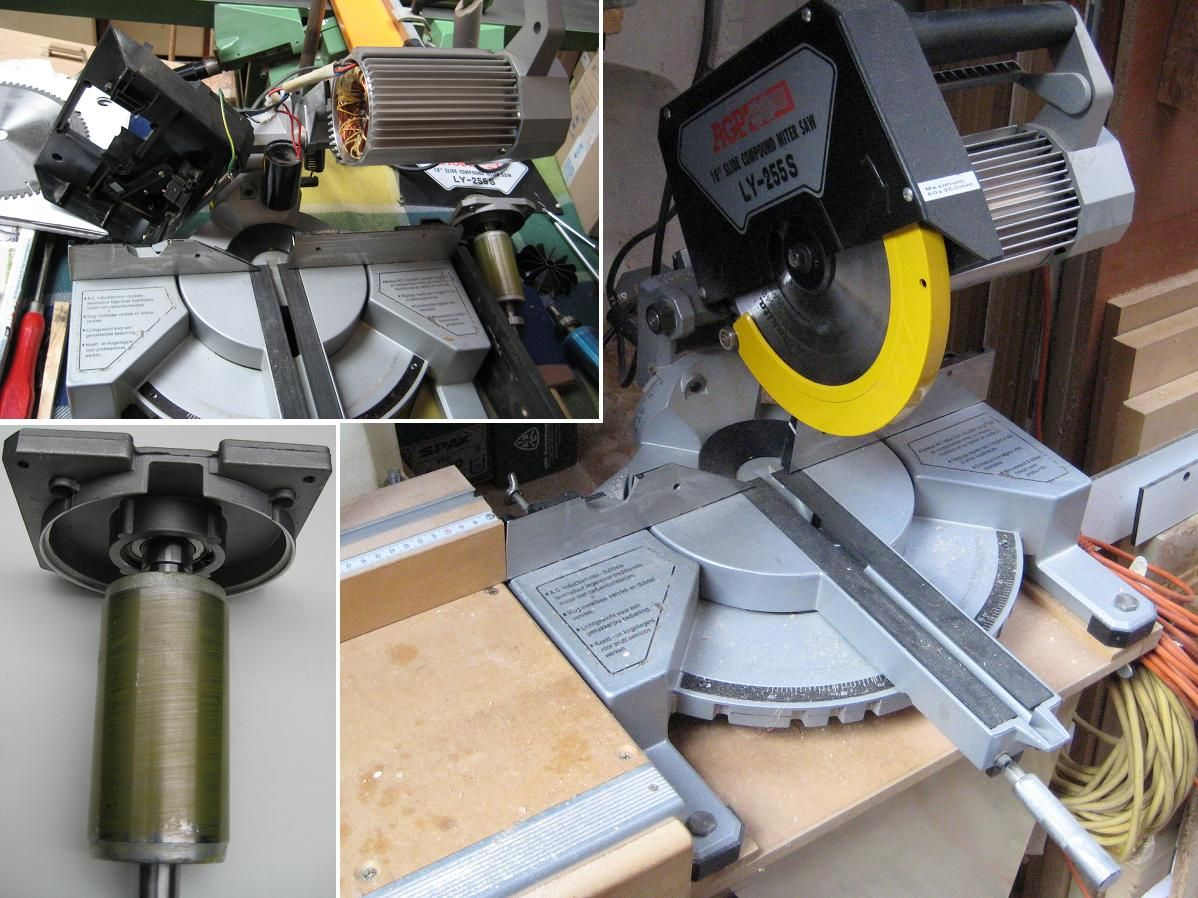 Agp sliding compound mitre saw origin my own problem after an agp sliding compound mitre saw origin my own problem after an offcut got caught between the blade and the fence the spindle was bent causing blade greentooth Gallery
