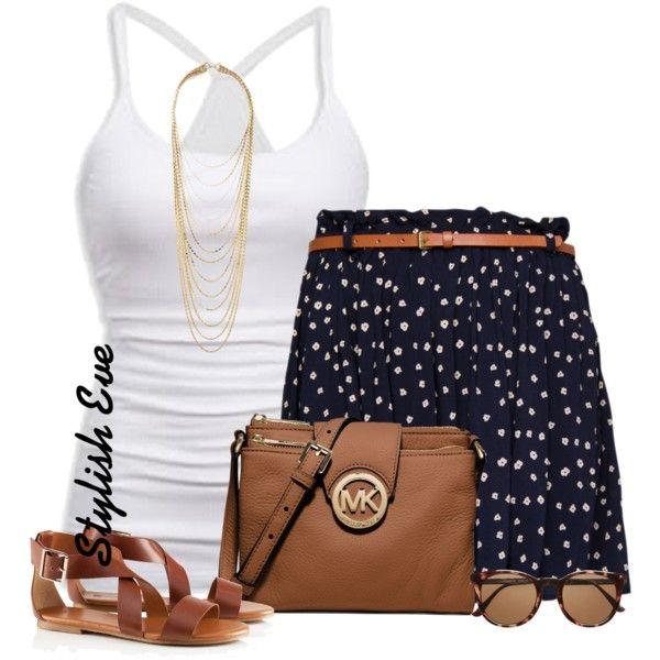 Polka dots short skirt