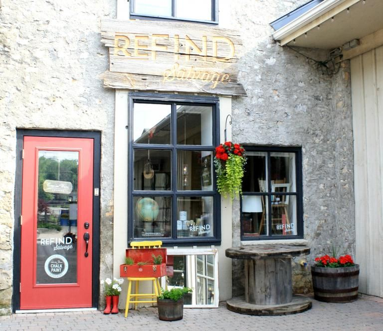 In Elora, Ontario reFIND Salvage is a fusion of rustic