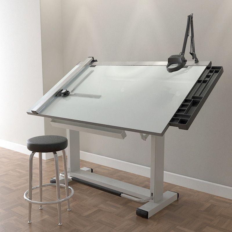 Pro drafting table set 3d model stuff for the home for Architecte desl definition