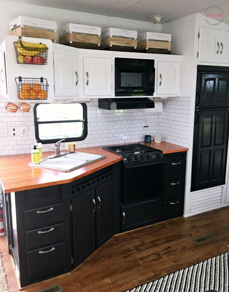 Diy Wood Countertops For Rv Diy Wood Countertops Wood Countertops Diy Camper Remodel
